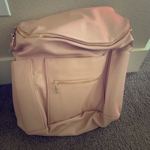 Fawn Design leather backpack